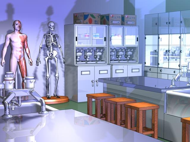 Laboratorio de ciencias naturales Rika01